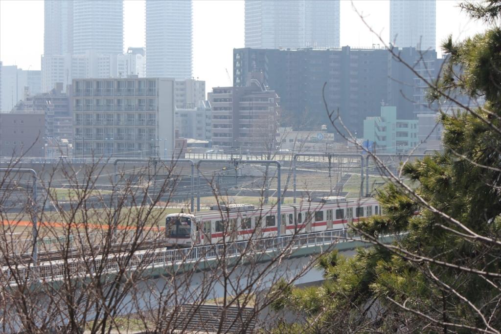多摩川鉄橋などの眺望_5