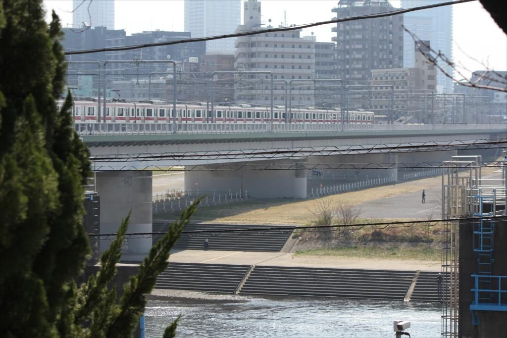多摩川鉄橋などの眺望_6