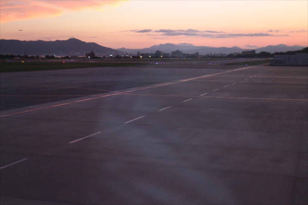 函館山から少し先まで飛んできたことになる