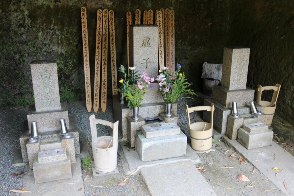 高濱虚子の墓の墓のようだ