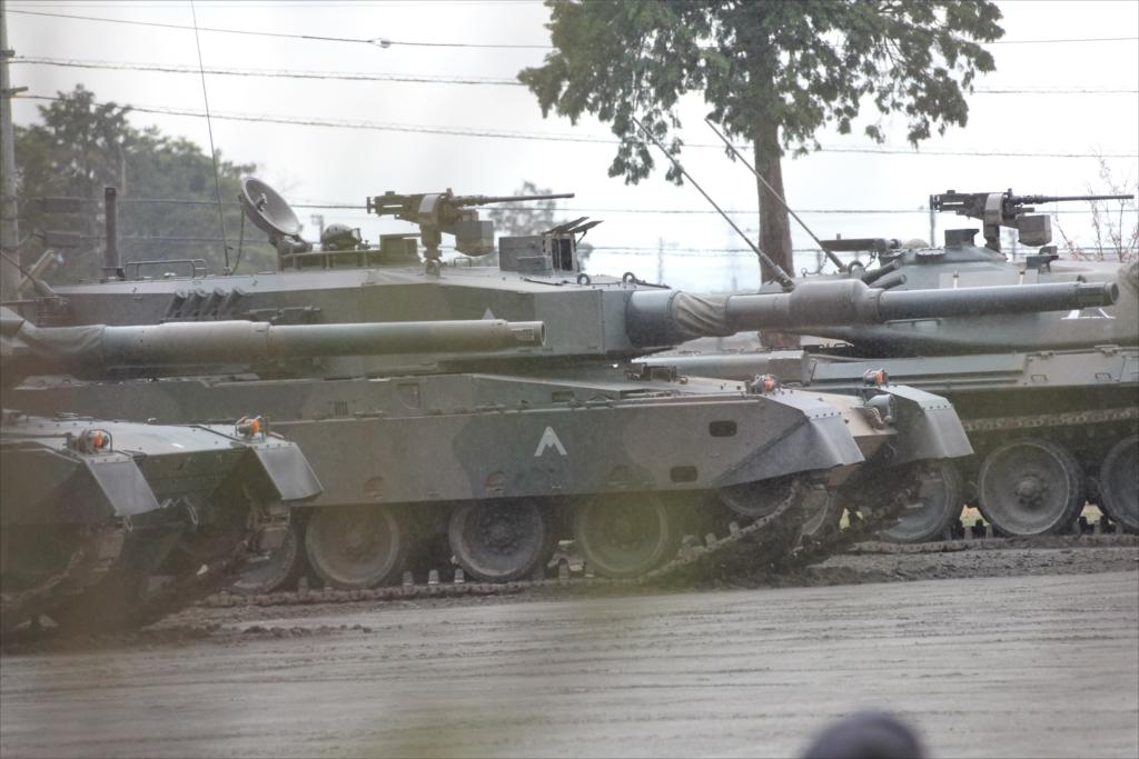 74式戦車や90式戦車の投入_6