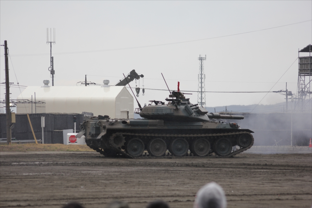 74式戦車や90式戦車の投入_18
