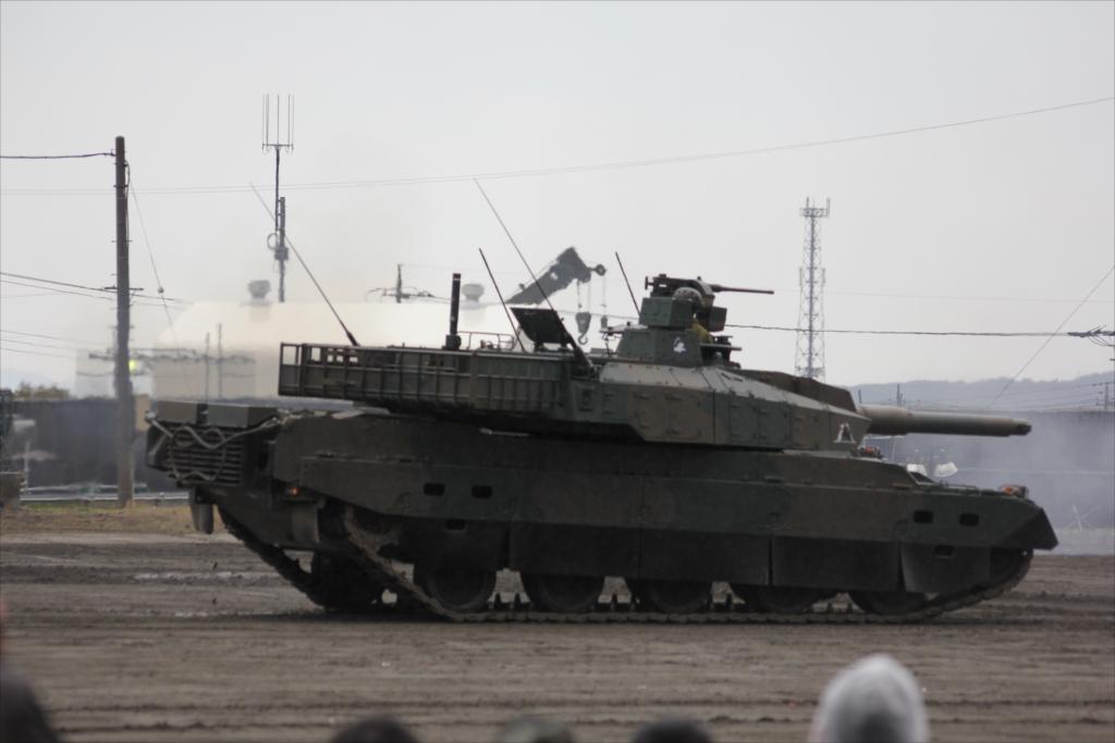 74式戦車や90式戦車の投入_24
