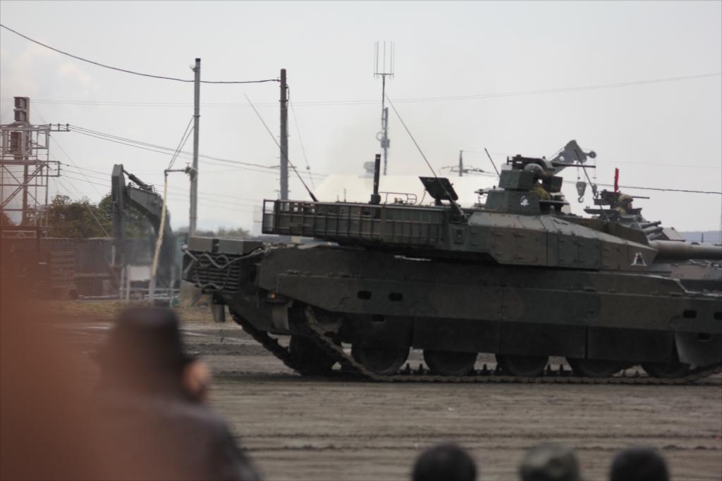 74式戦車や90式戦車の投入_25