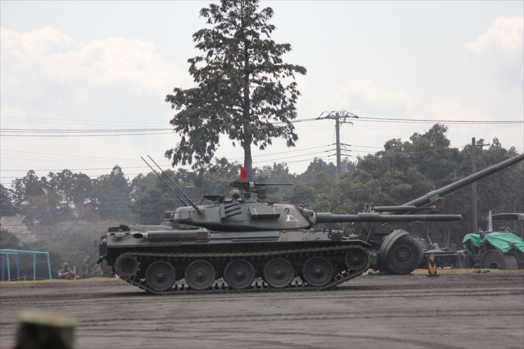 74式戦車や90式戦車の投入_44