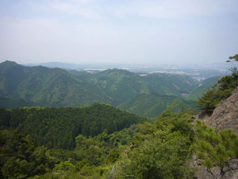 蔵岩からの眺望