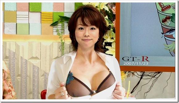 【本田朋子(女子アナ)】お宝美乳おっぱい全裸アイコラヌードエロ画像・モテモテ動画