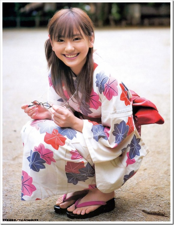 【着物】萌える可憐な美女のお宝フェチ的笑顔