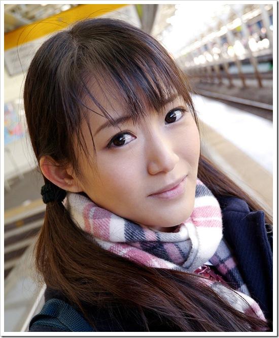 原田明絵|美少女が制服脱いだら美乳おっぱい|全裸ヌードエロ画像動画