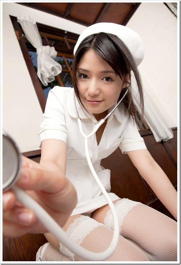 【看護師】いつも美乳天使なナースのパンストや下着