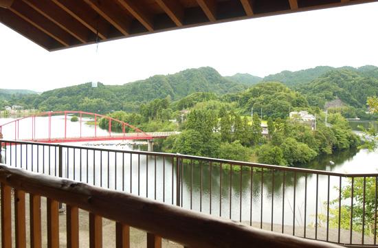 亀山湖嵯峨和の露天風呂