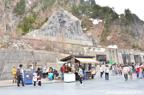 富山県 観光 黒部ダム 黒四ダム 立山黒部アルペンルート トロリーバス の写真12