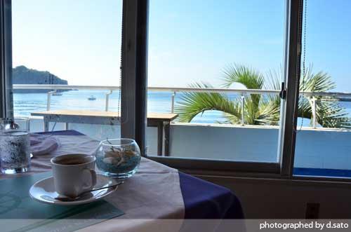 神奈川県 三浦市 カフェ 海が見える リビエラ シーボニア クラブハウスレストラン 口コミ11