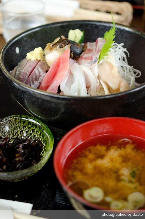 千葉県 内房 鋸南町 勝山 漁協直営 なぶら 海鮮丼 昼食 ランチ 口コミ3