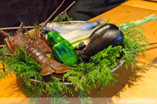 千葉の宿 広丞庵かのか千葉大多喜 夕食 ディナー 和食 炭火焼 川魚 口コミ ブログ1