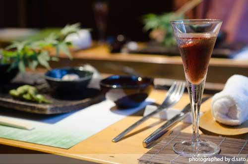 千葉の宿 広丞庵かのか千葉大多喜 夕食 ディナー 和食 炭火焼 川魚 口コミ ブログ2
