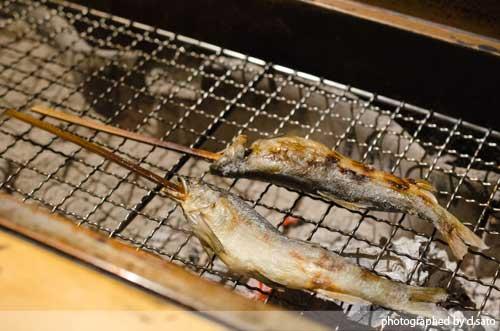 千葉の宿 広丞庵かのか千葉大多喜 夕食 ディナー 和食 炭火焼 川魚 口コミ ブログ14
