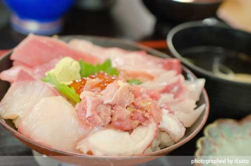 千葉県 館山市 那古船形 とまや 御食事処 昼食 ランチ 海鮮丼 マグロ丼 美味い 口コミ4