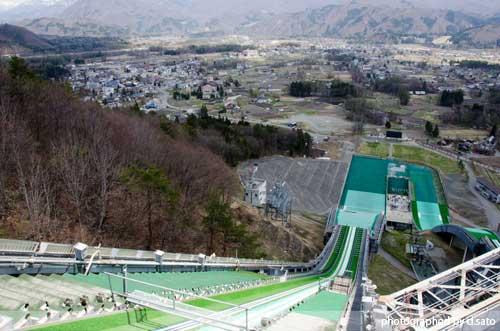 長野県 白馬ジャンプ競技場 見学 白馬ジャンプ台 アクセス方法 住所 スタートタワーについて14