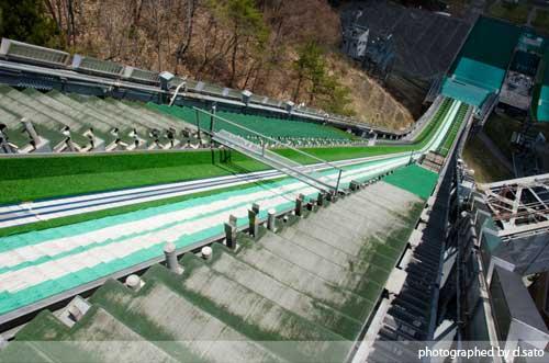長野県 白馬ジャンプ競技場 見学 白馬ジャンプ台 アクセス方法 住所 スタートタワーについて15