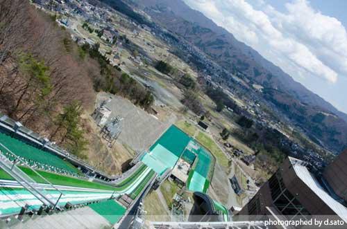 長野県 白馬ジャンプ競技場 見学 白馬ジャンプ台 アクセス方法 住所 スタートタワーについて16