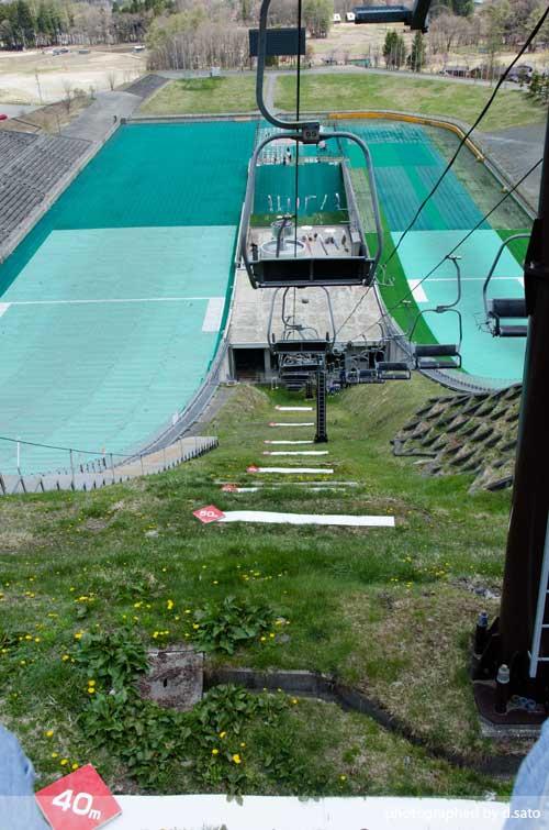 長野県 白馬ジャンプ競技場 見学 白馬ジャンプ台 アクセス方法 住所 スタートタワーについて22