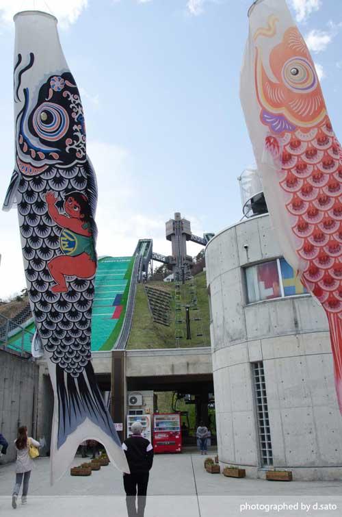 長野県 白馬ジャンプ競技場 見学 白馬ジャンプ台 アクセス方法 住所 スタートタワーについて24