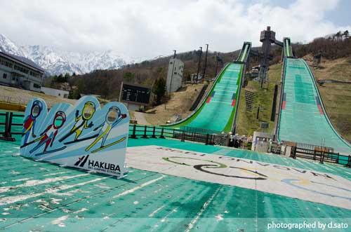 長野県 白馬ジャンプ競技場 見学 白馬ジャンプ台 アクセス方法 住所 スタートタワーについて26