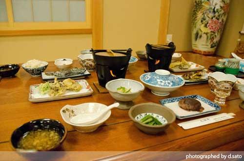 福島県 檜枝岐温泉 せせらぎの宿 尾瀬野 口コミ 食事 夕食 朝食 写真 スキー旅行1
