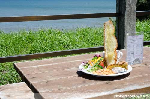 千葉県 いすみ市 崖カフェ千葉 GAKE ガケ 崖cafe 太東 海の見えるカフェ 絶景カフェ おしゃれな空間 食事 5