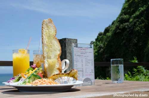 千葉県 いすみ市 崖カフェ千葉 GAKE ガケ 崖cafe 太東 海の見えるカフェ 絶景カフェ おしゃれな空間 食事 8