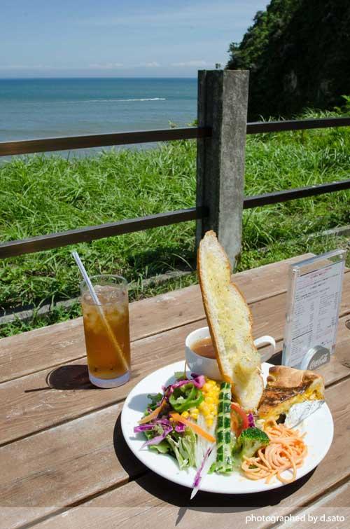 千葉県 いすみ市 崖カフェ千葉 GAKE ガケ 崖cafe 太東 海の見えるカフェ 絶景カフェ おしゃれな空間 食事 16