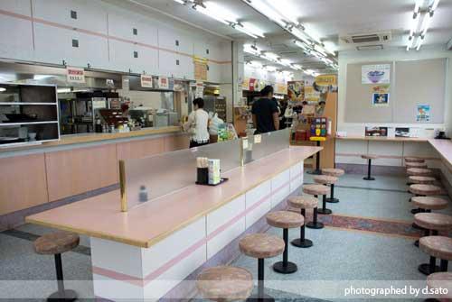 福島県 郡山市 東北道 安積PA パーキングエリア 魚介醤油ラーメン 700円 駐車場 6