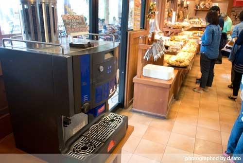 千葉県 千葉市 石窯パン工房 ル・マタン おゆみ野店 パン屋 カフェ 無料の挽きたてコーヒー4