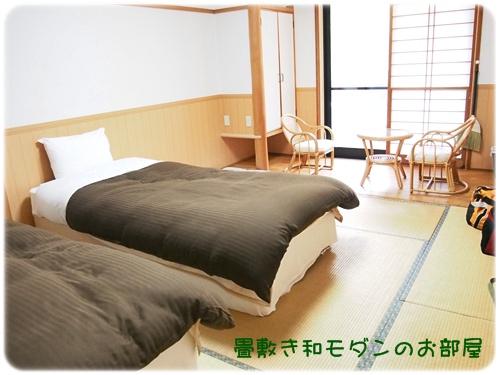 1階のツインルーム