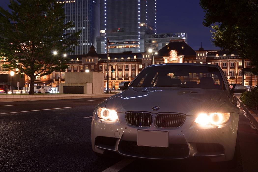 東京駅夜景201407