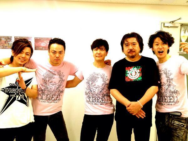 東方神起日本のダンサーバンドチーム2