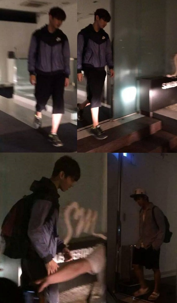 140810 Yunho and Changmin leaving SM building2