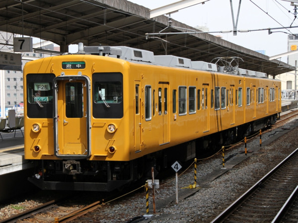 JR西日本 105系 黄色