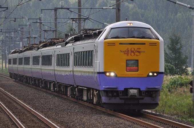 JR東日本485系 白鳥