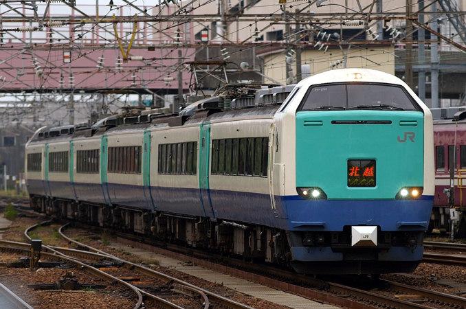 JR東日本485系北越