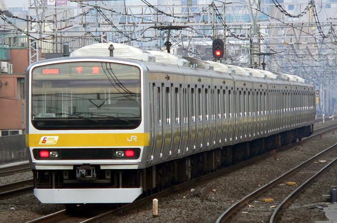 JR東日本E231系通勤 総武