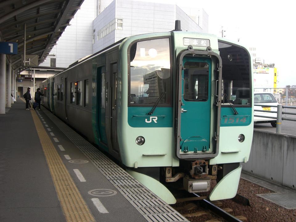 JR四国 1500形 1514