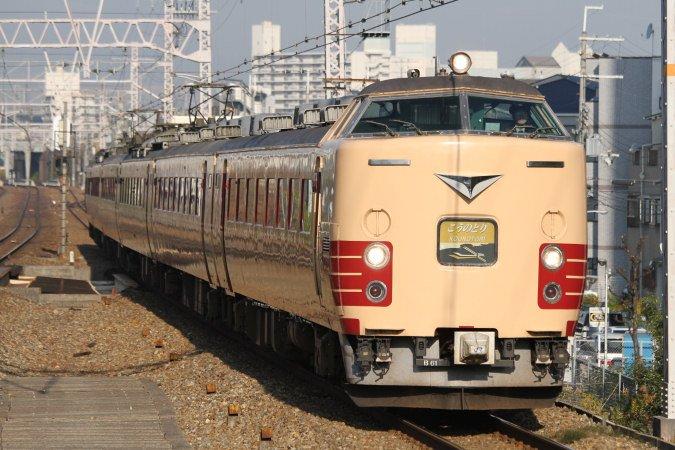 JR西日本183系 こうのとり