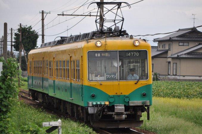 富山地鉄14700系