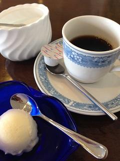 レストラン はまなす 雛弁当 コーヒー アイスクリーム