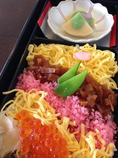 レストラン はまなす 雛弁当 ちらし寿司