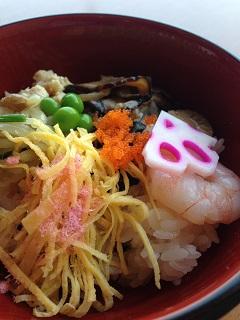 ガーデンナチュレ ふきのとう ちらし寿司