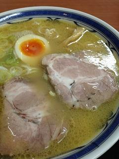 五十嵐製麺 白湯ラーメン