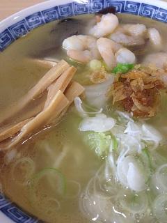 煌麺 エビ塩ラーメン